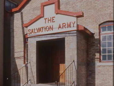 Old Salvation Army in Fernie