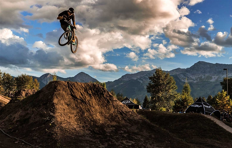 WAM BAM event at the dirt jump park