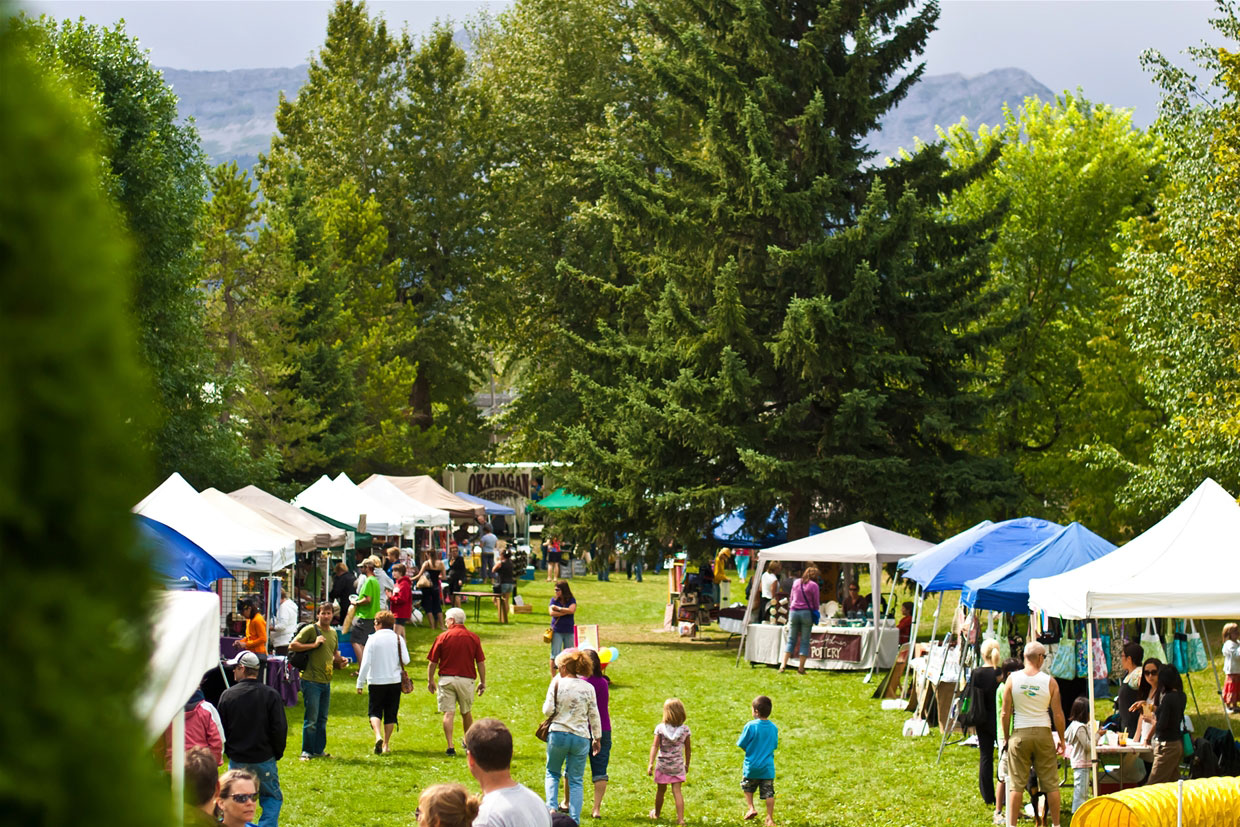 Fernie Mountain Market at Rotary Park