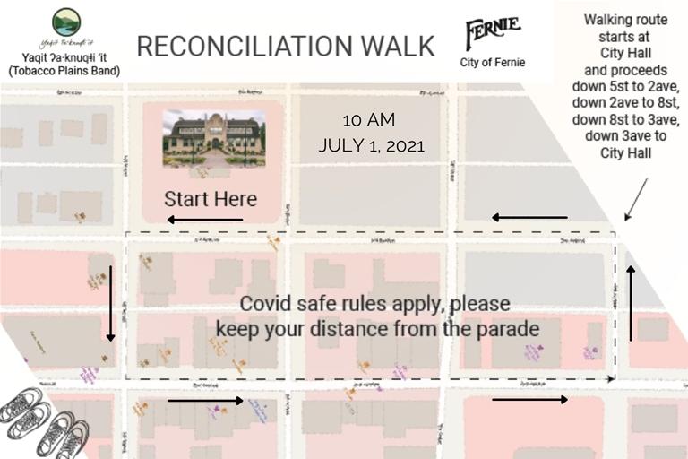 Reconcilation Walk