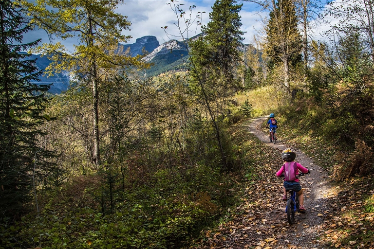 Hiking and biking trails for all levels of ability