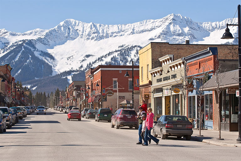 Shop downtown Fernie