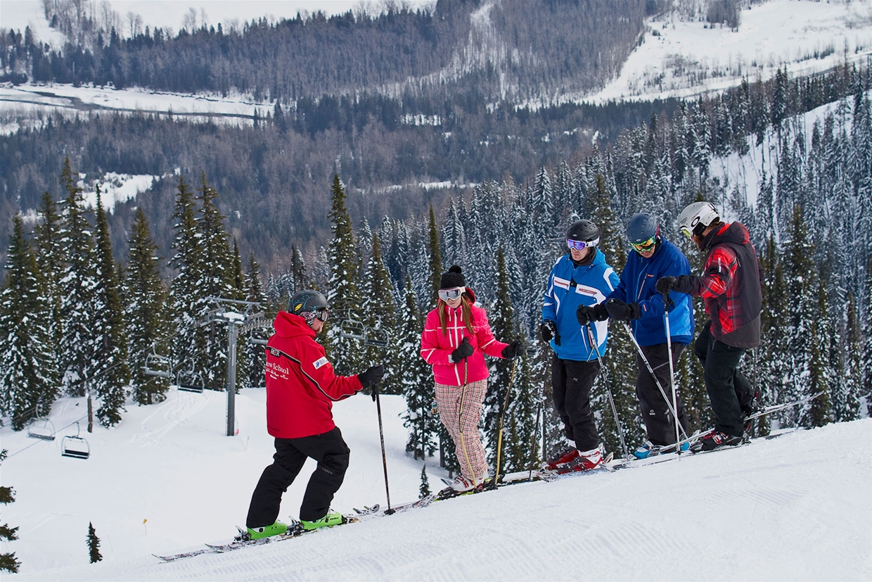 Free mountain tours at Fernie Alpine Resort