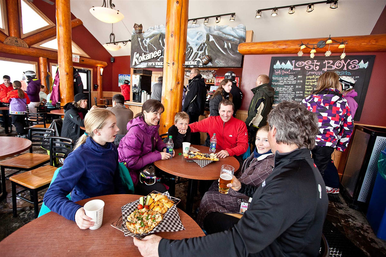 Lost Boys Café at Fernie Alpine Resort