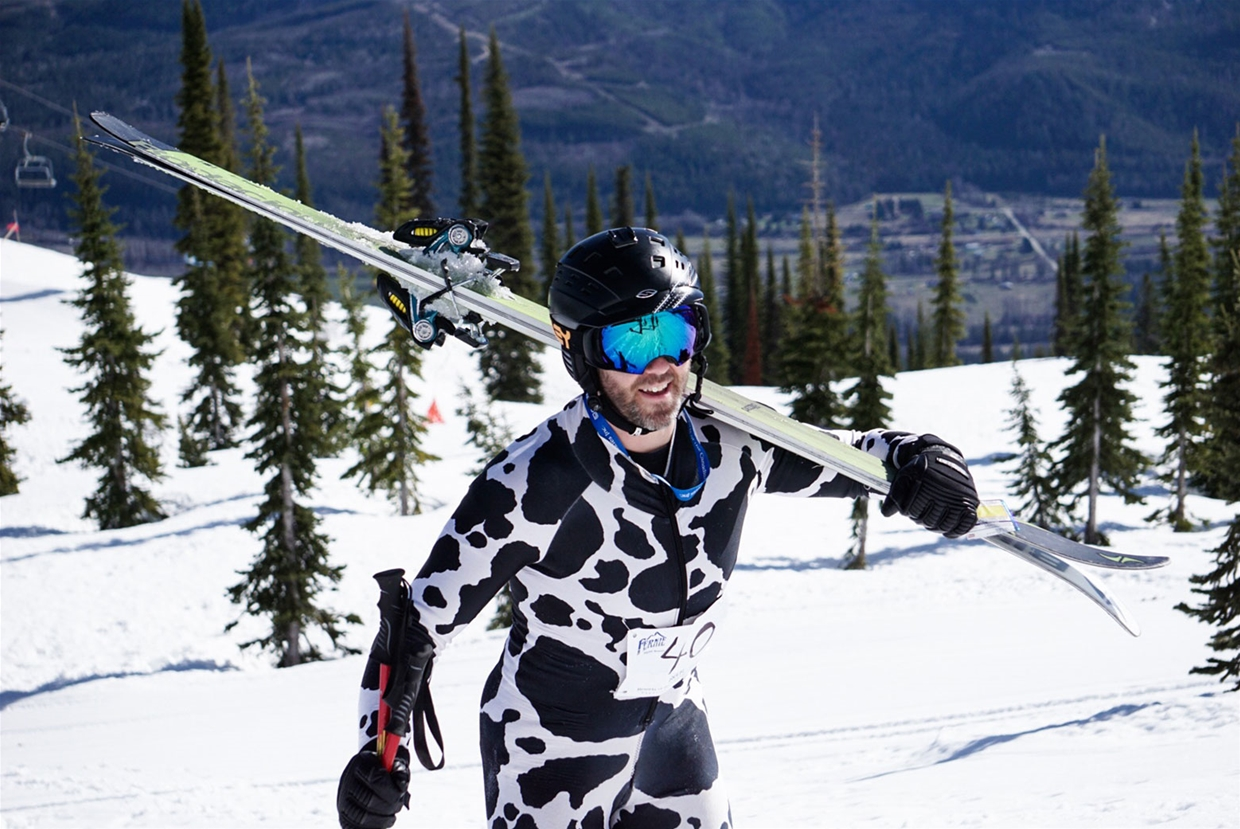 Powder, Pedal, Paddle (PPP) Relay Race at Fernie Alpine Resort