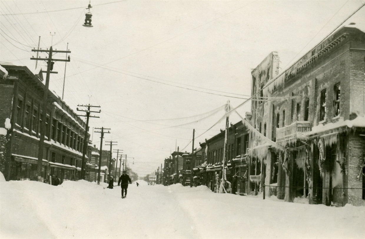 Second Avenue in Downtown Fernie