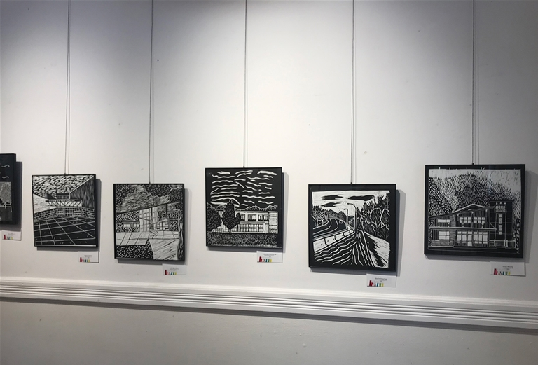 Local art on display at The Arts Station