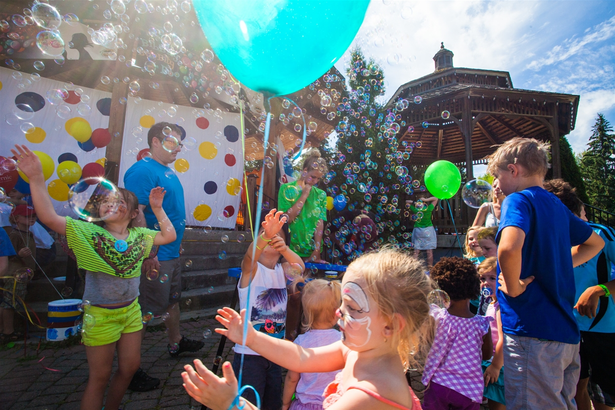 Spend the outdoors at Bibbity Bobbity Boo Children's Festival