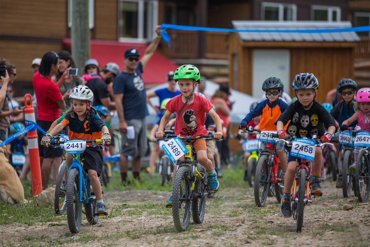 Kids activities at Canada Cup, Fernie.
