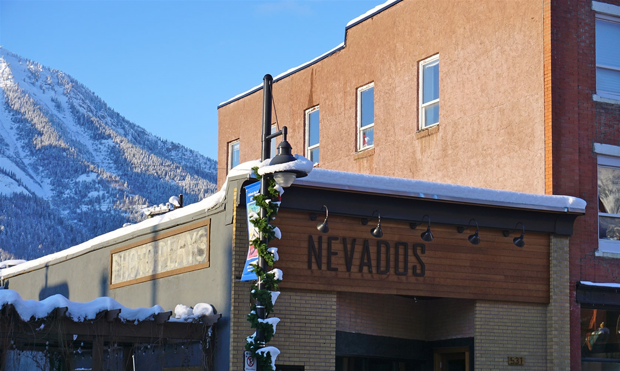 Nevados Restaurant in Historic Downtown Fernie