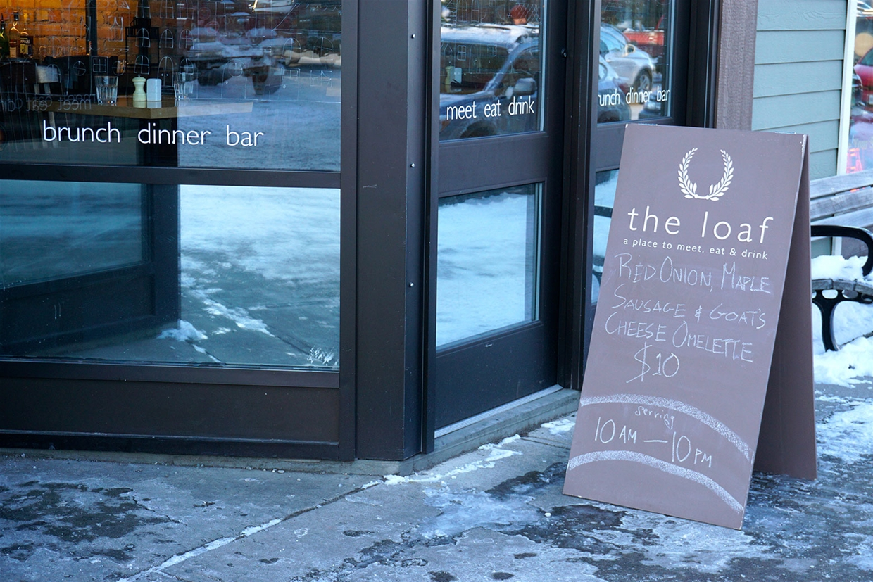 Loaf Restaurant in Historic Downtown Fernie