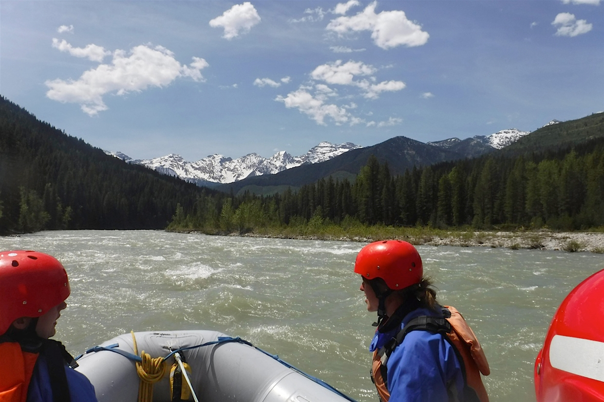 Whitewater Rafting with Canyon Rafting Company