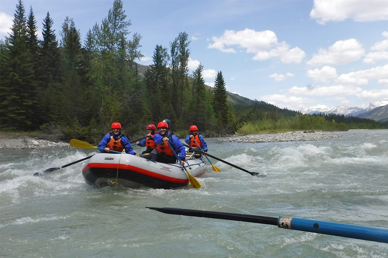 Whitewater Rafting on the Bull River