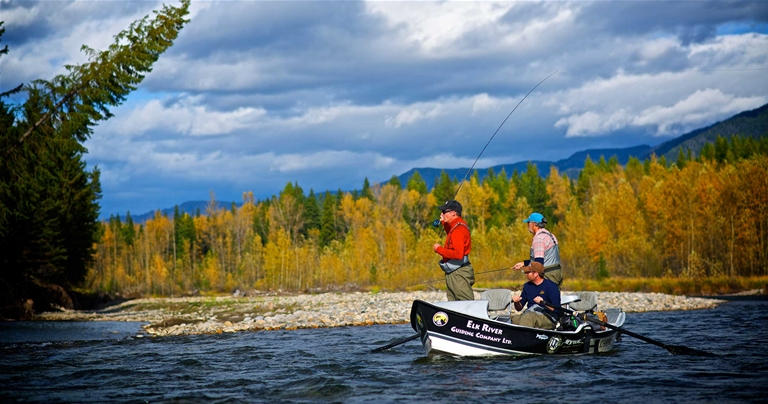 Fly Fishing the Elk River with Fly Fusion TV