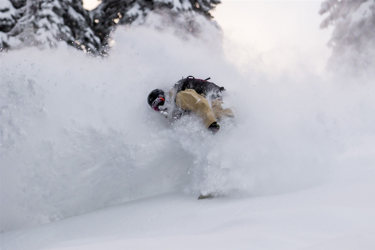 December 20, 2017 Powder Day at Fernie Alpine Resort! Image: Nick Nault