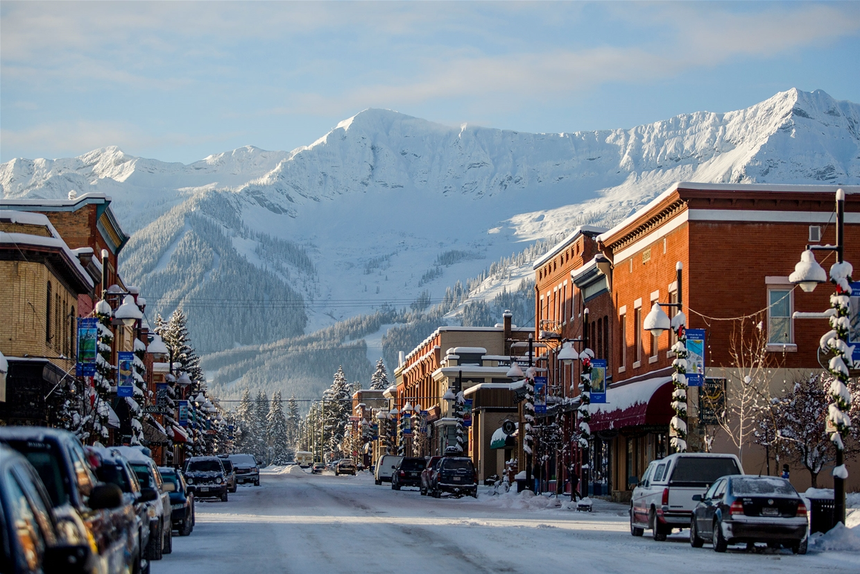 About Fernie BC in the Canadian Rockies of British Columbia