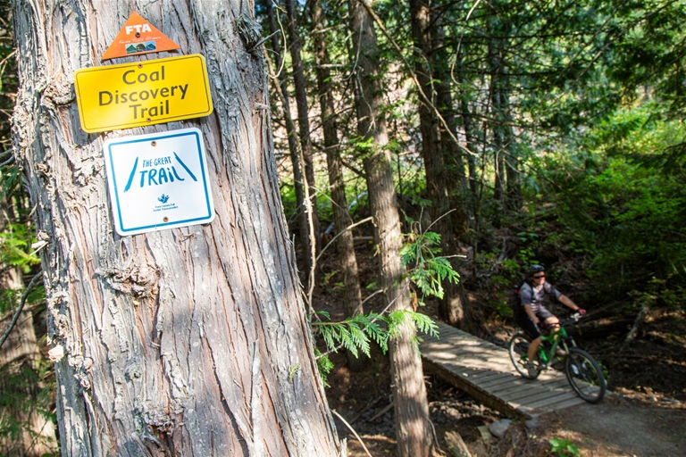 Elk Valley Trail - just a small slice of the Great Trail