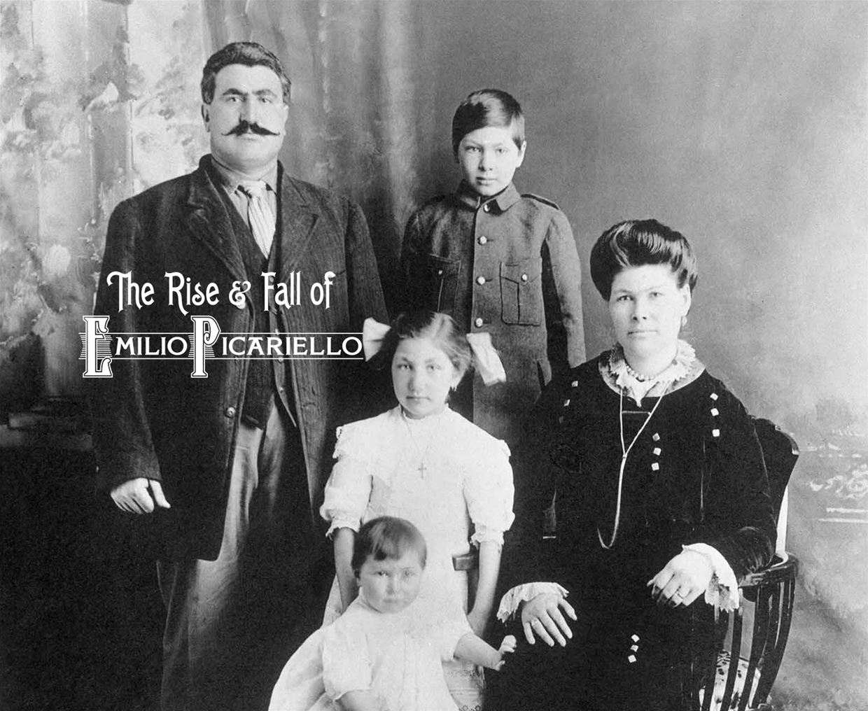 Emilio Picariello with his family