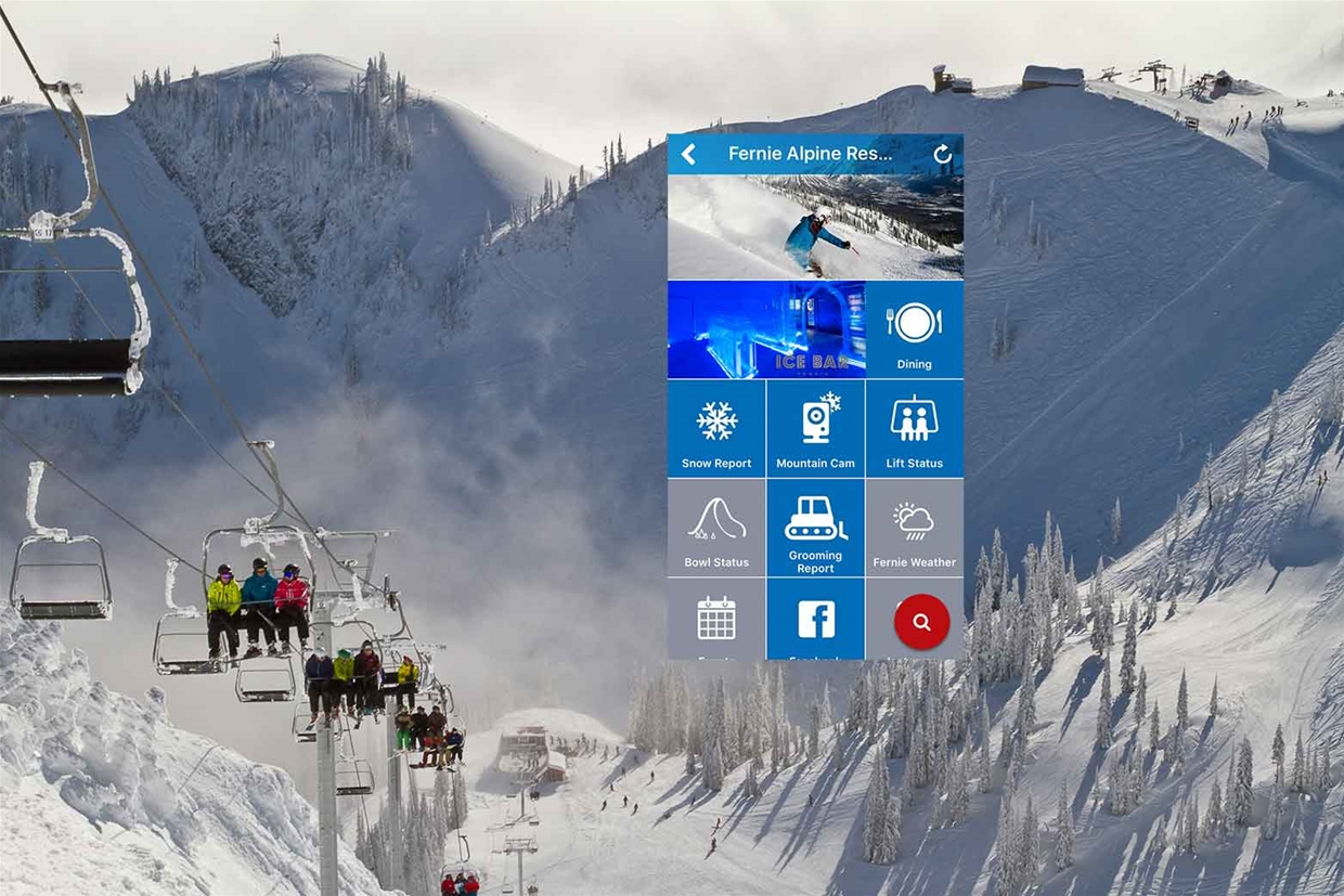 Fernie Alpine Resort new APP now live!
