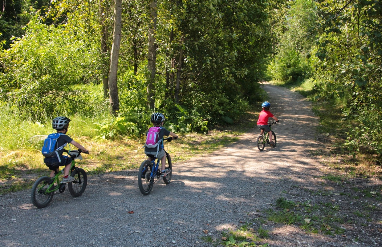 Easy Riding on Fernie Recreational Trails