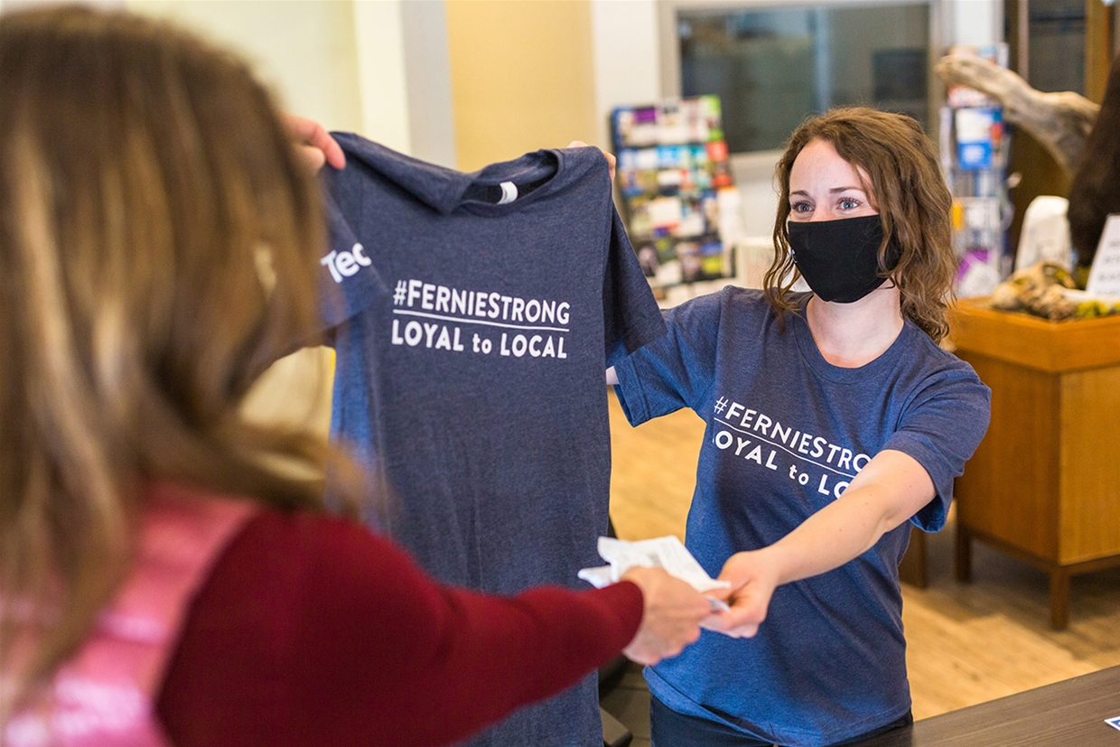 Loyal to Local #FernieStrong Initiative
