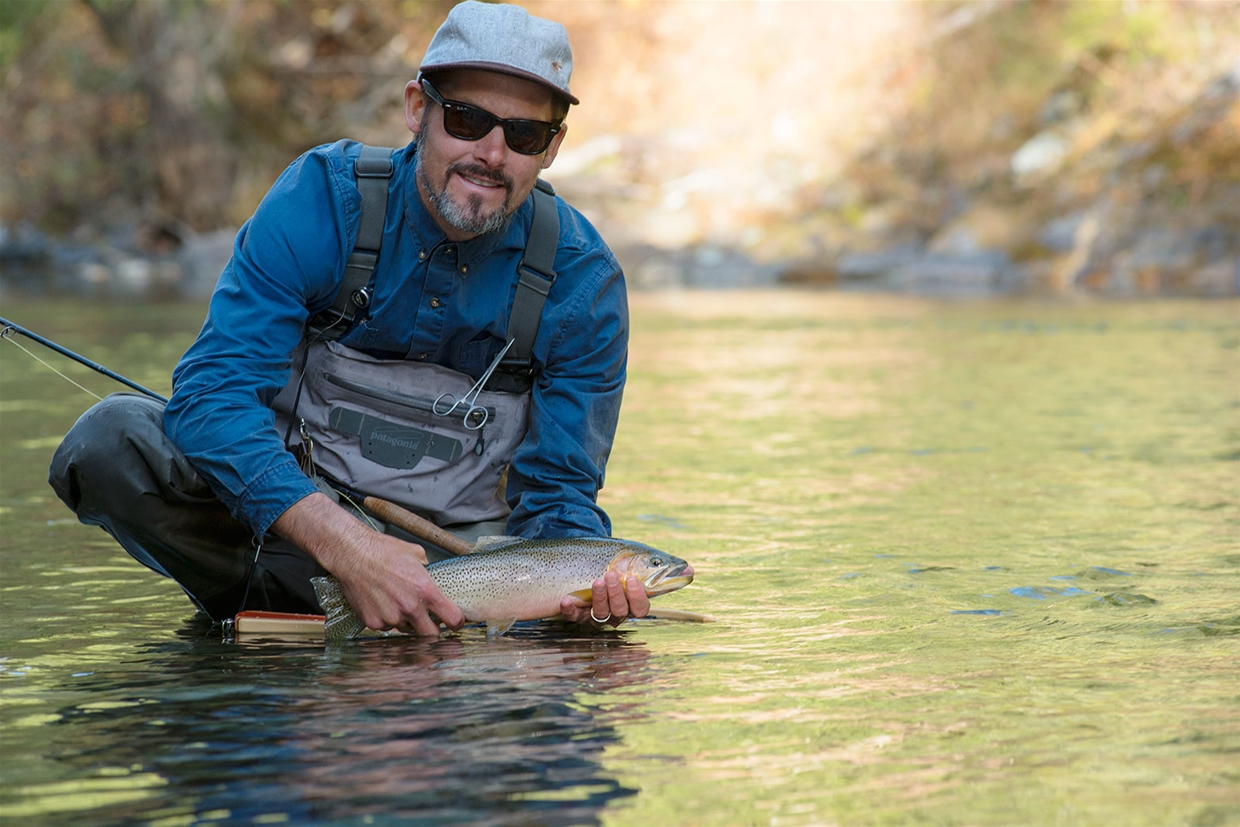 Fall fly fishing the Wigwam River