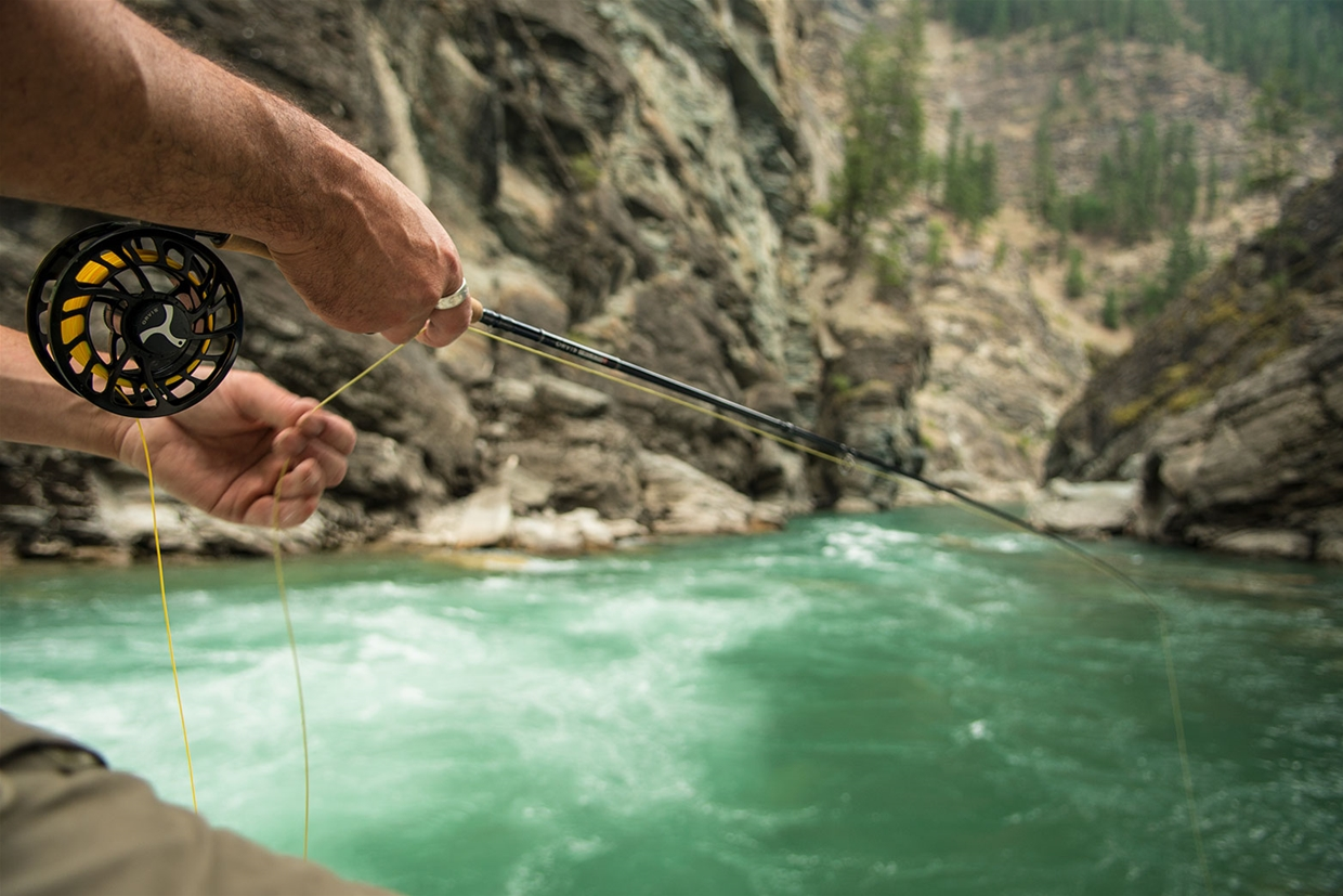 Fly fishing the Wigwam River