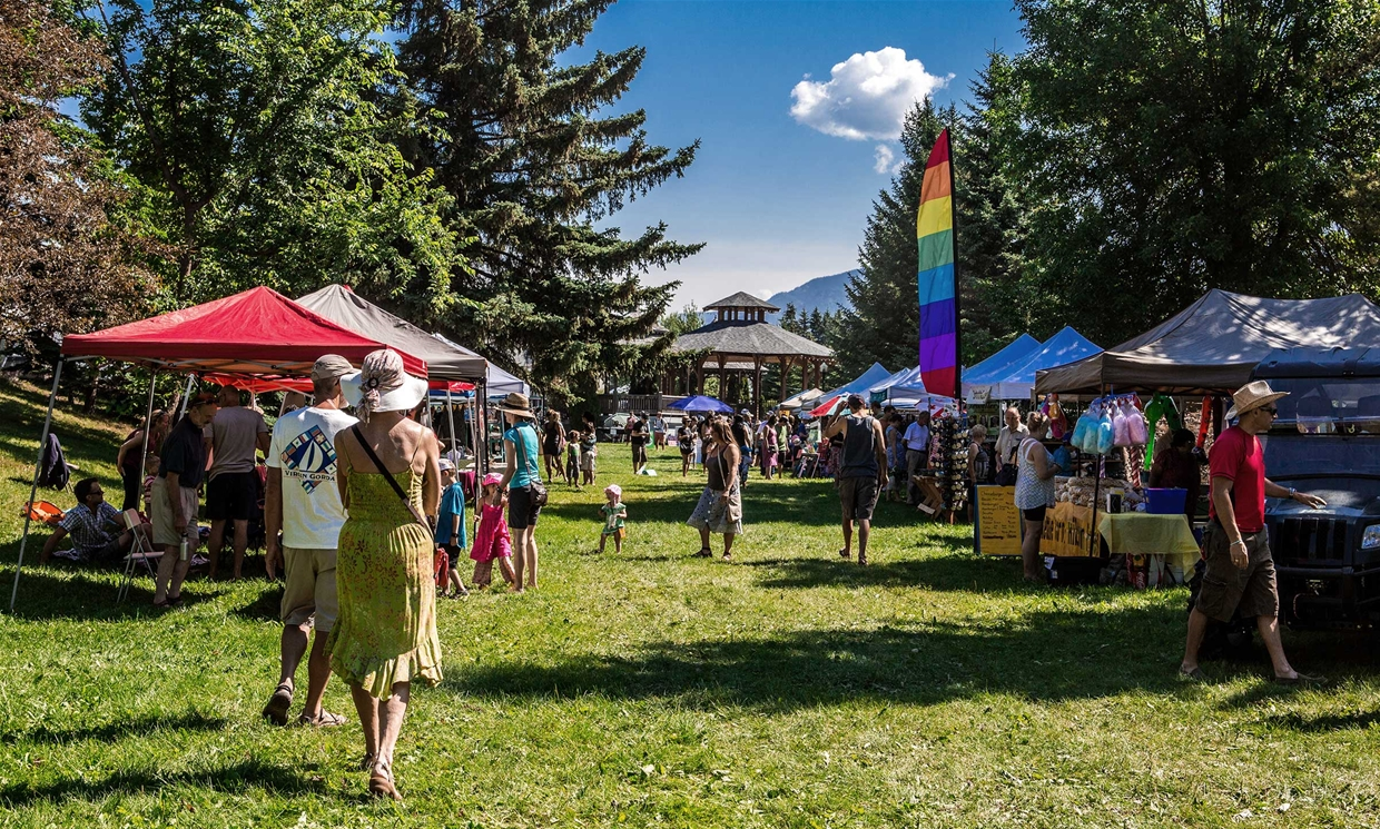 Fernie Mountain Market - Sundays in July & August