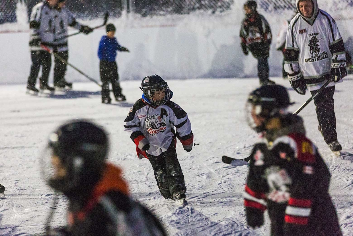 Outdoor Rink Grand Opening
