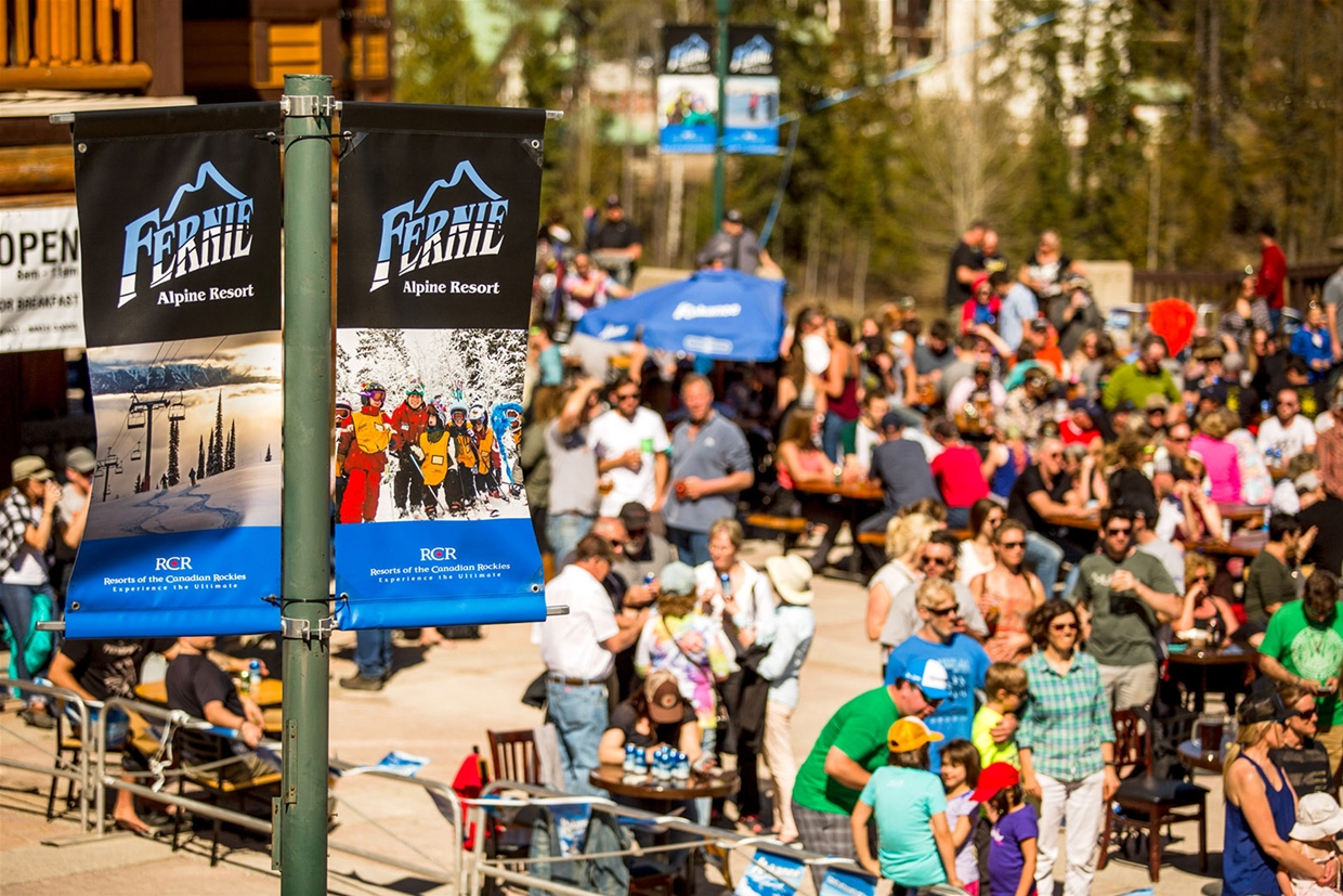 Fernival - Closing Weekend Party at Fernie Alpine Resort - April 15 & 16