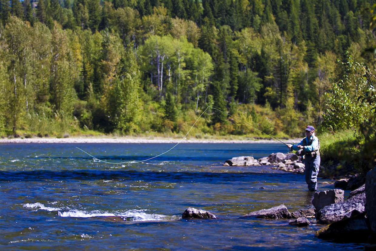 Fly Fishing the Elk River