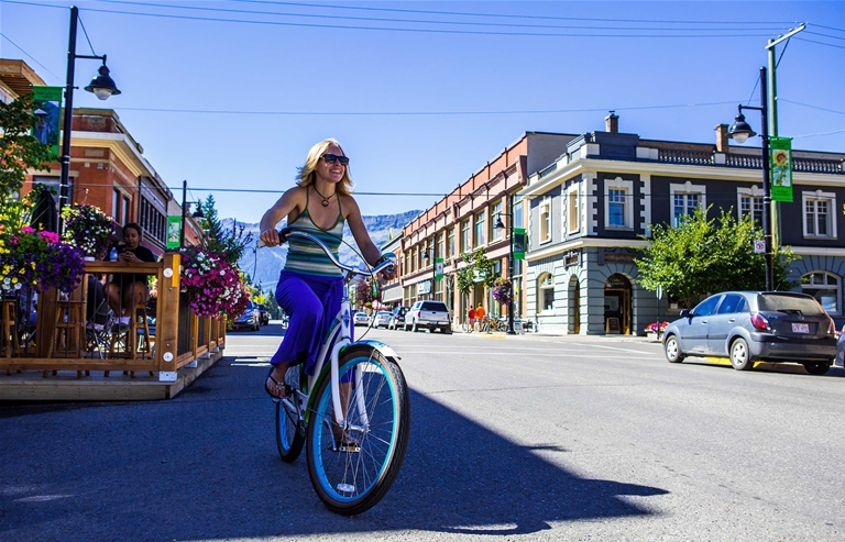 Spring, summer and fall are a vibrant and fun time in Fernie