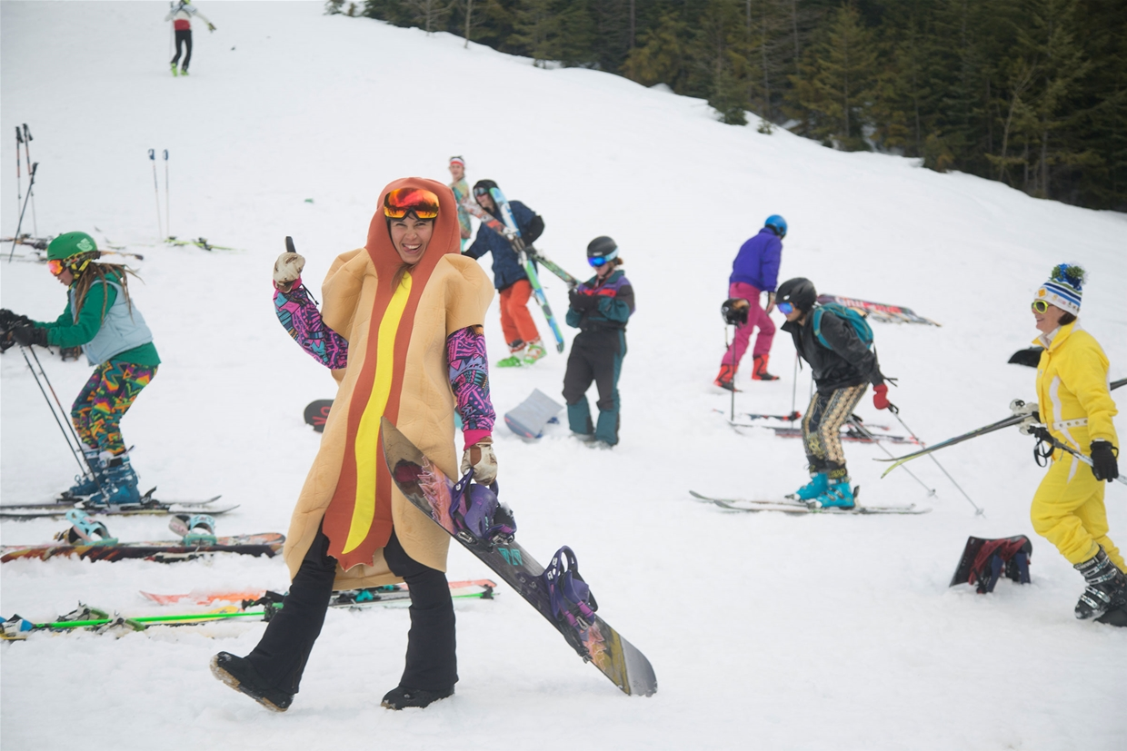 Hot Dog Day in Fernie