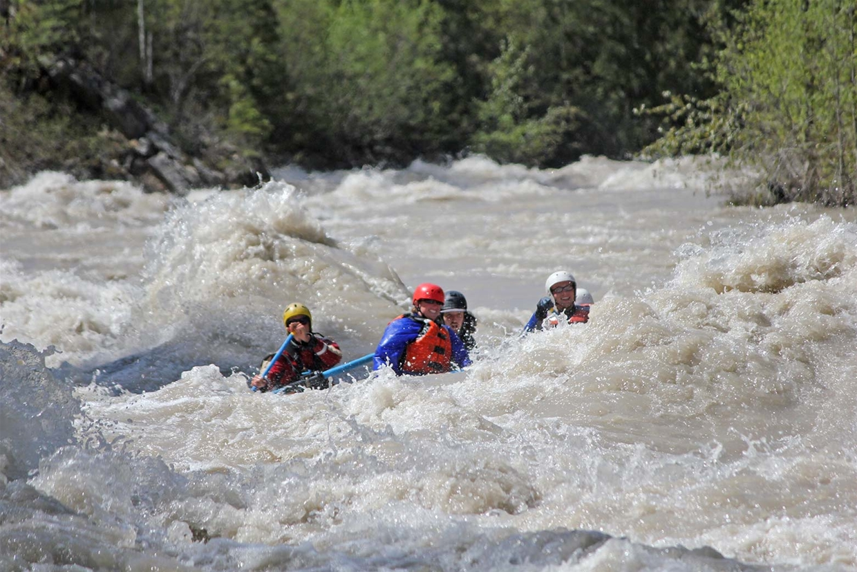 Larger rapids section... for anther day with the Canyon Raft Company