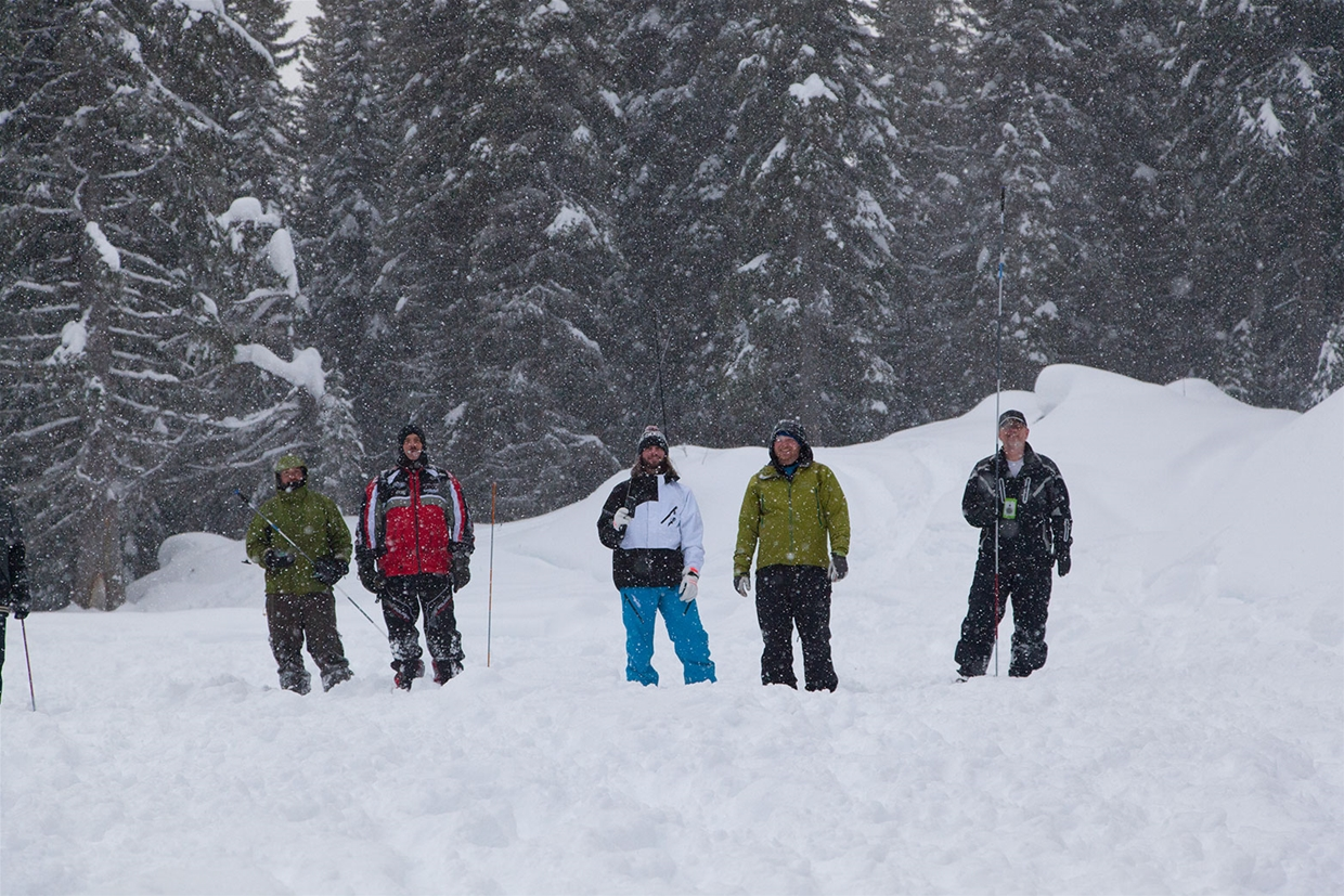 Avalanche Safety Training with Elk Valley Snow Shepherds