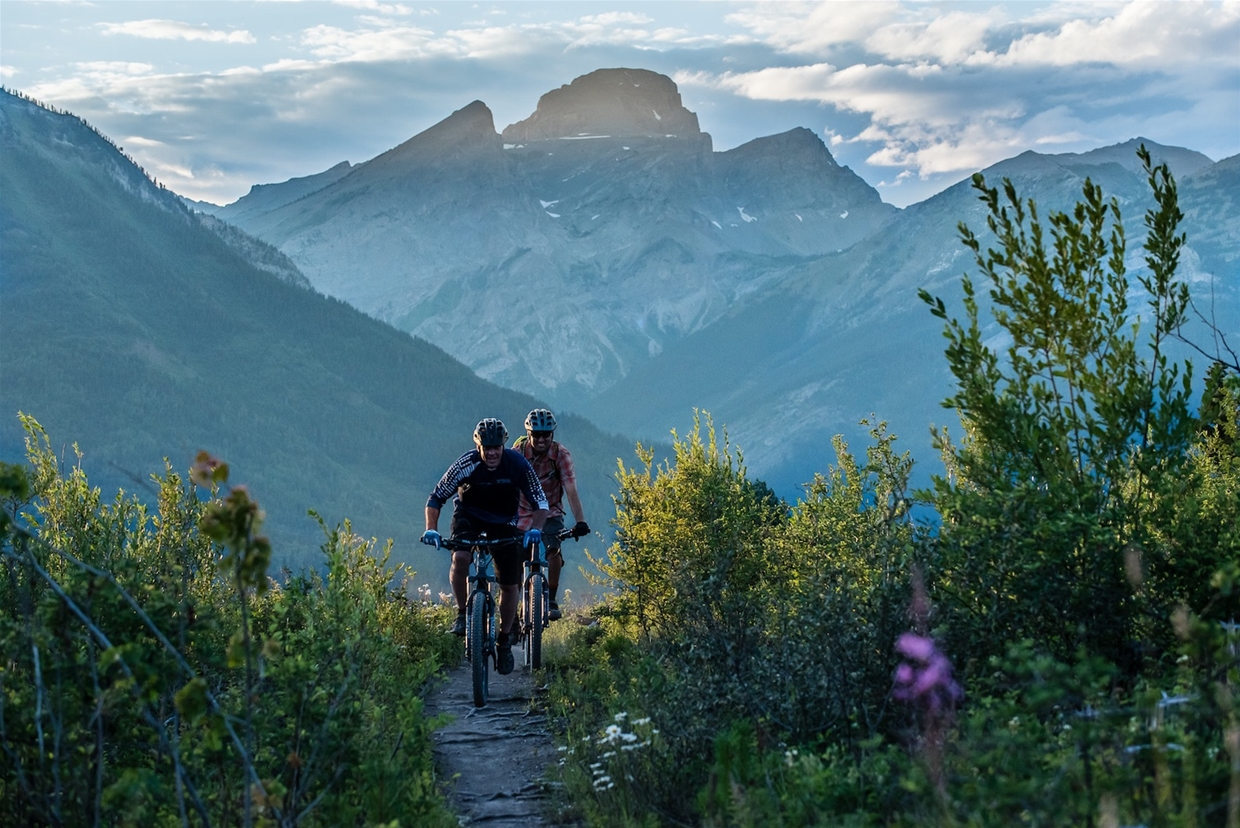 Mountain Biking Castle & Montane Trails