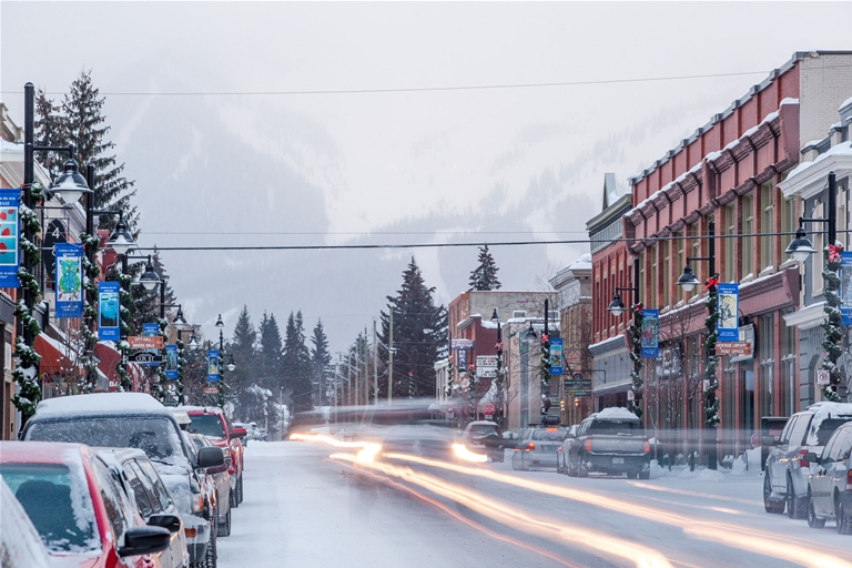 Historic Downtown Fernie. Photo by Matt Kuhn