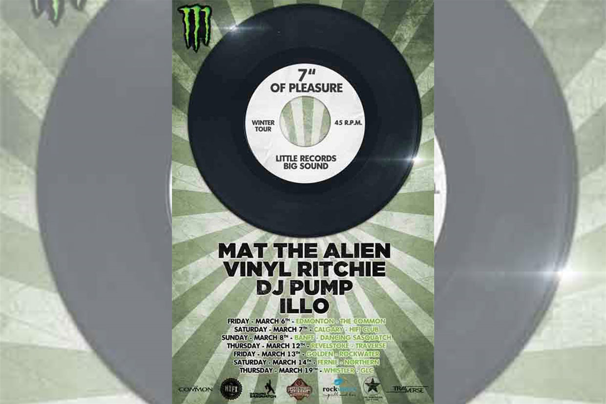 Mat The Alien Vinyl Ritchie DJ Pump ILLO