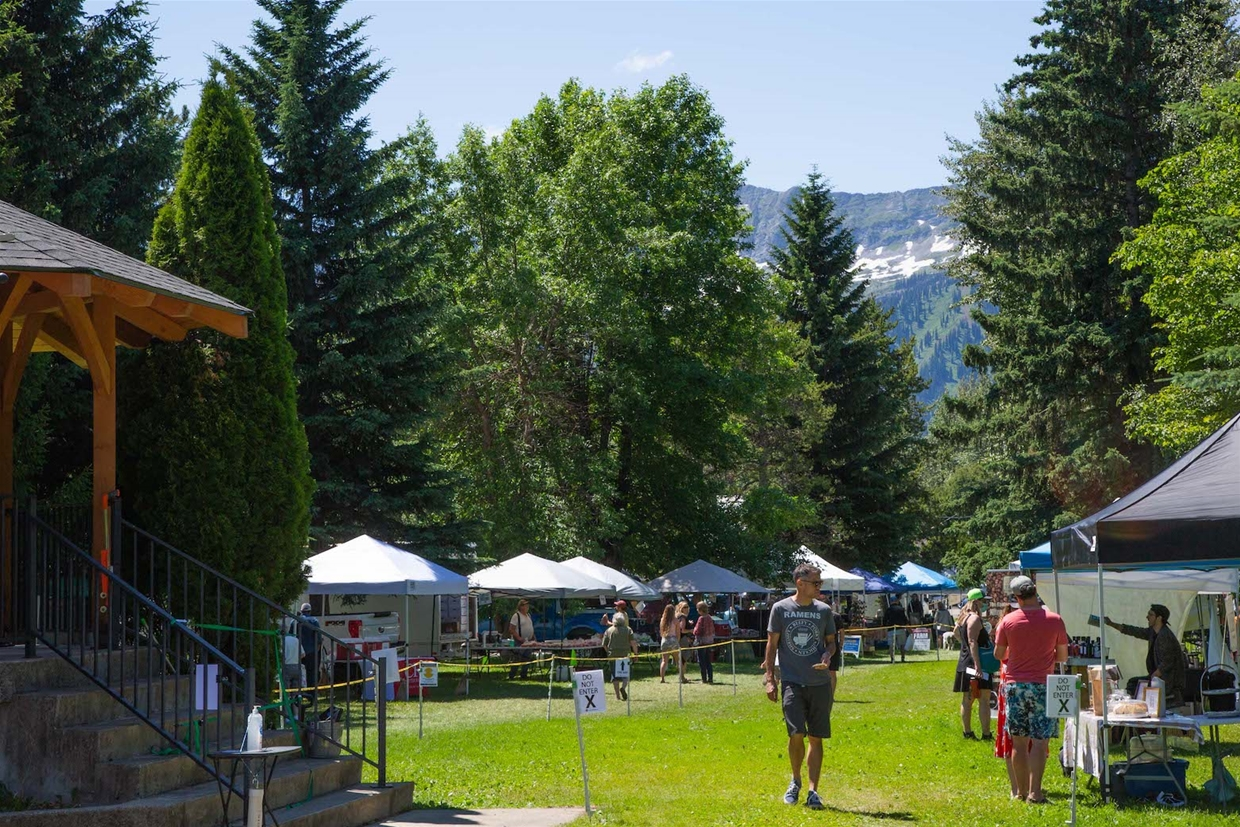Fernie Mountain Market - every Sunday in Rotary Park through July & August 2020.