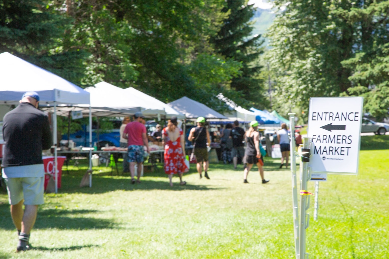 Fernie Mountain Market - enjoy visiting safely!