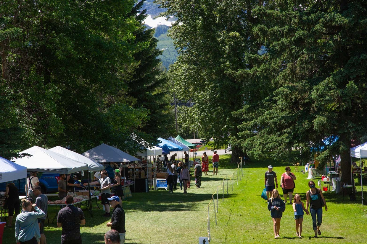 Fernie Mountain Market in 2020