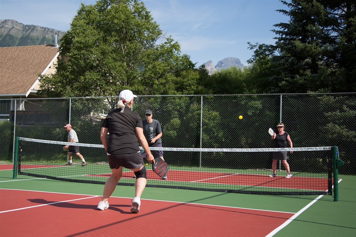 Pickleball Courts in Max Turyk Facility