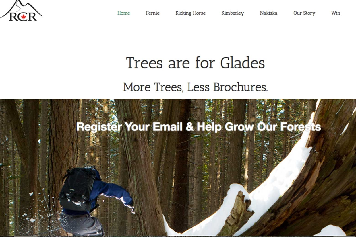 Trees are for glades by RCR