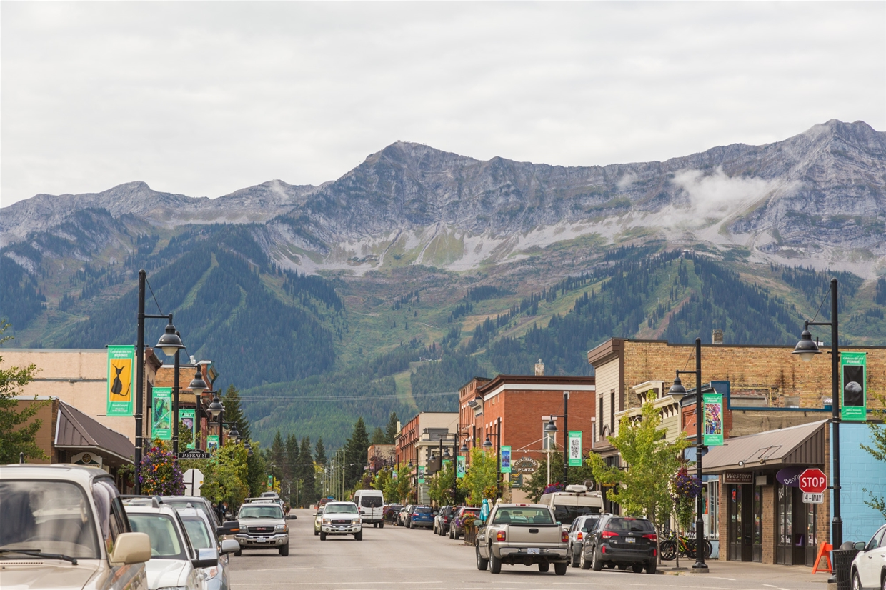 Sept 11th, 2019 - Looking south west from downtown Fernie