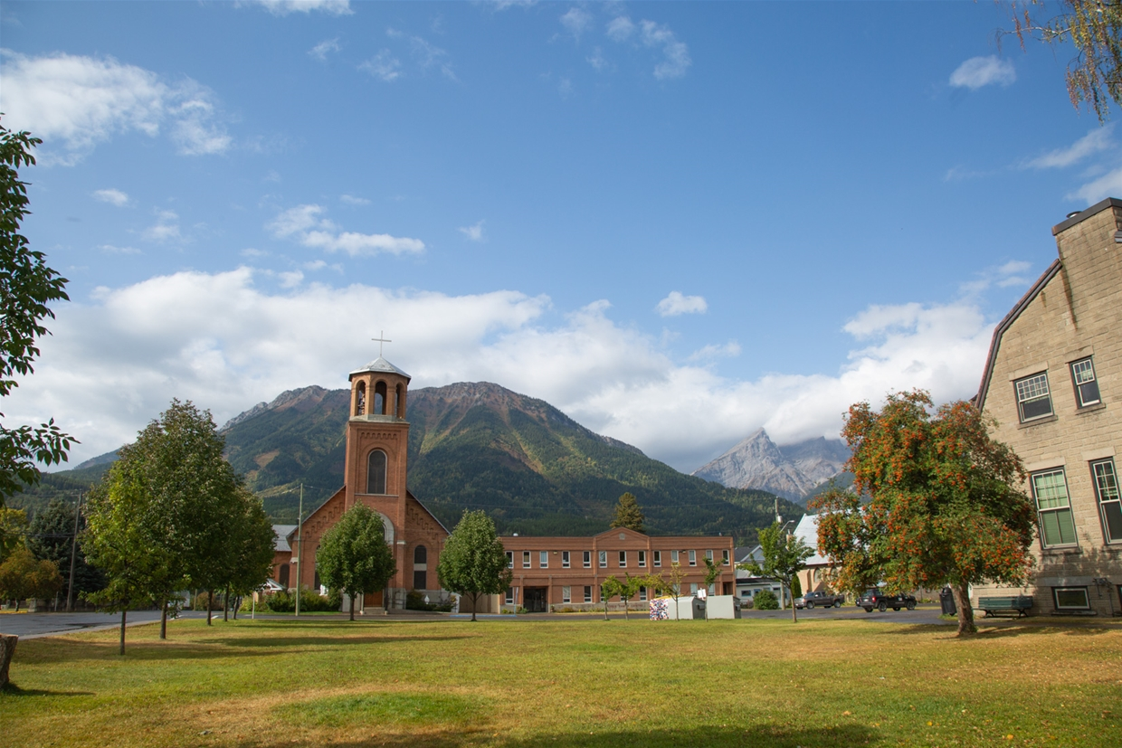 September 20th 2020 - City Hall looking NW towards Mt. Fernie