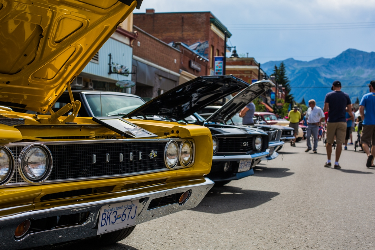 Show N' Shine event in Fernie in August
