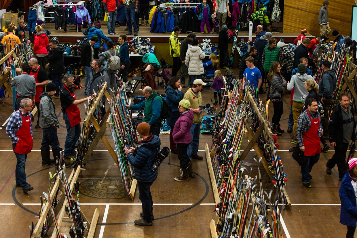 Find a deal at the Fernie Ski Swap