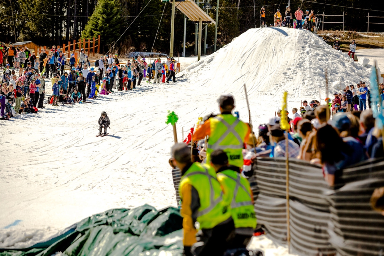Slope Soaker - Fernival Closing Weekend at Fernie Alpine Resort