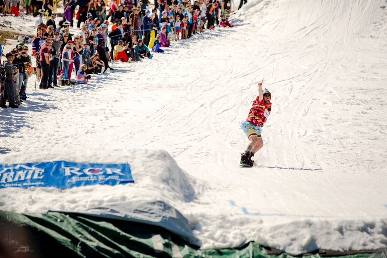 Slope Soaker - Fernival - Closing Weekend at Fernie Alpine Resort