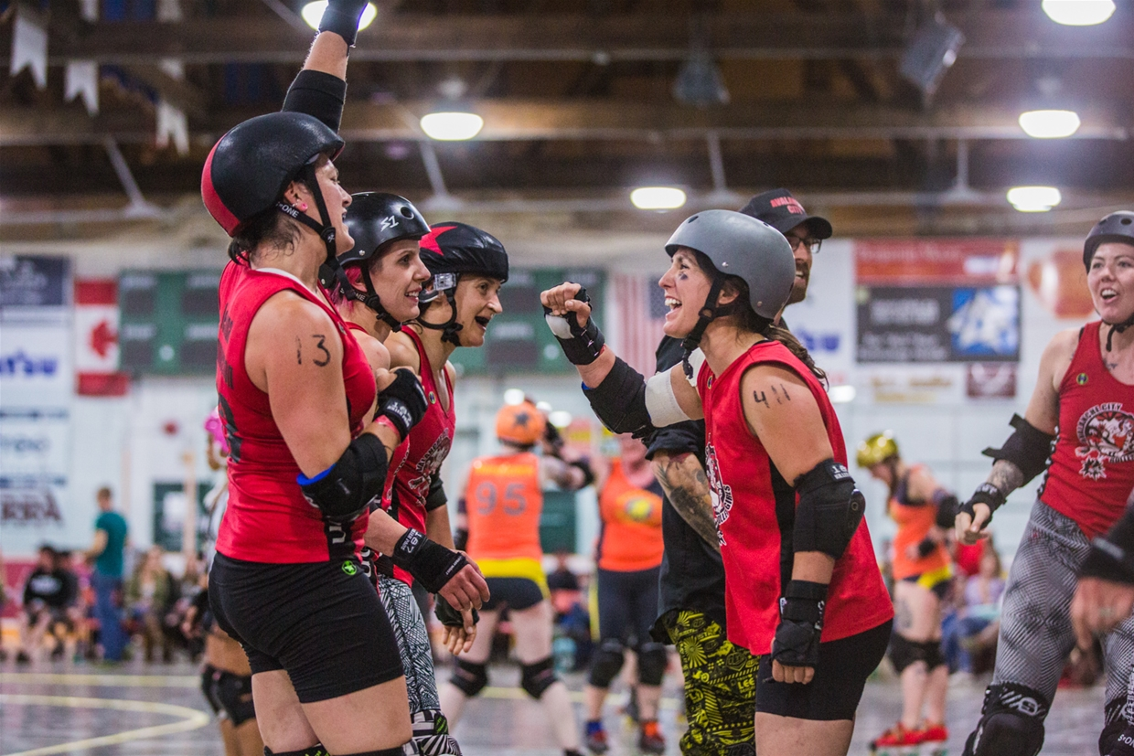 Fernie's Avalanche City Roller Girls